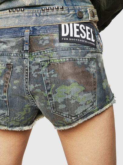 Diesel - DE-MARLEN, Mittelblau - Kurze Hosen - Image 4
