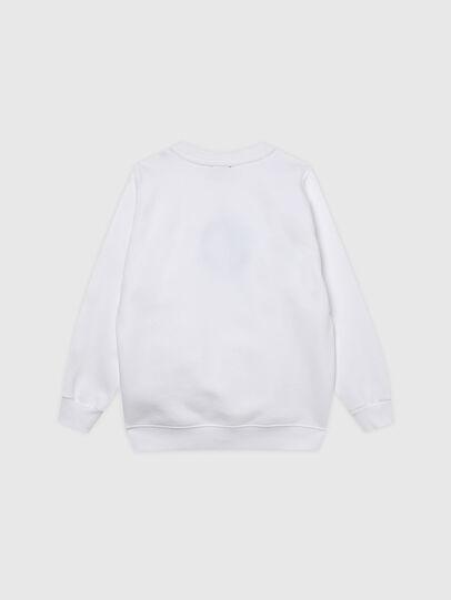 Diesel - SANGRSUC, Weiß - Sweatshirts - Image 2