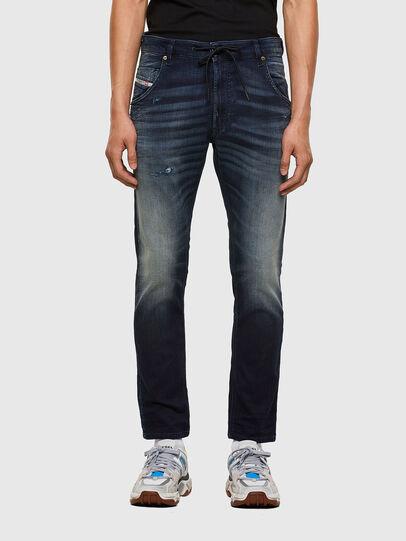 Diesel - KROOLEY JoggJeans® 069QD, Dunkelblau - Jeans - Image 1