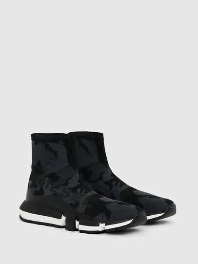 Diesel - H-PADOLA HIGH SOCK, Schwarz - Sneakers - Image 2
