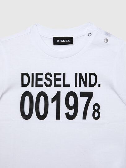 Diesel - TDIEGO001978B, Weiss/Schwarz - T-Shirts und Tops - Image 3