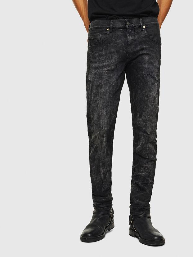 D-Strukt 069KE, Schwarz/Dunkelgrau - Jeans