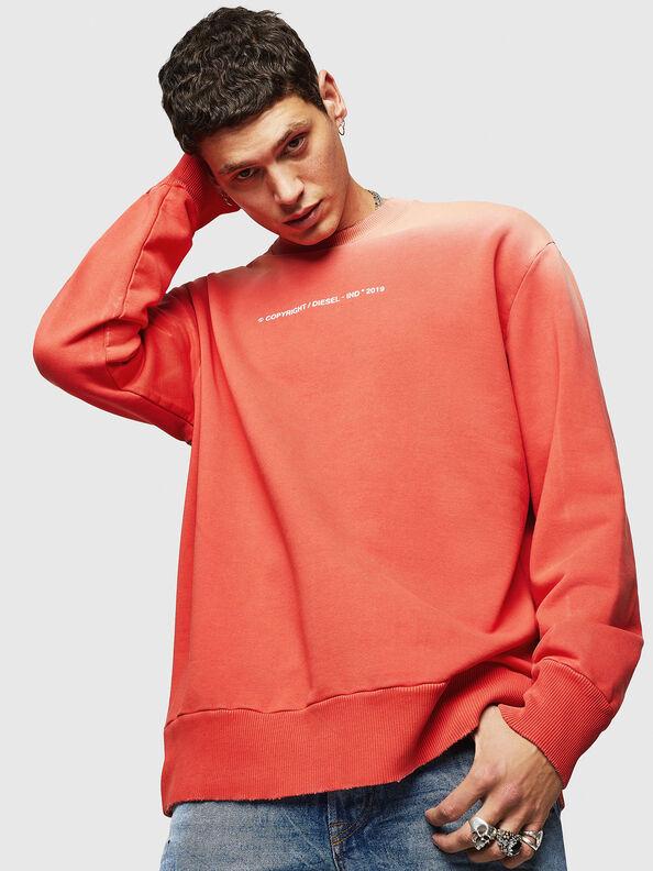 S-BAY-SUN, Orange - Sweatshirts