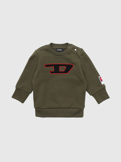 Diesel - SCREWDIVISIONB-D, Armeegrün - Sweatshirts - Image 1