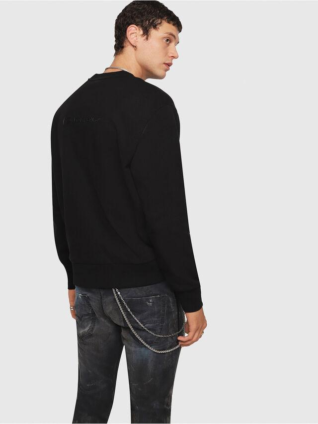 Diesel - CL-SNOR, Schwarz - Sweatshirts - Image 3