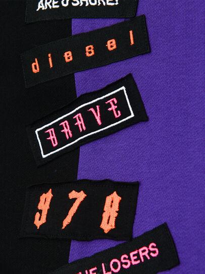 Diesel - DINIS, Schwarz/Violett - Kleider - Image 3