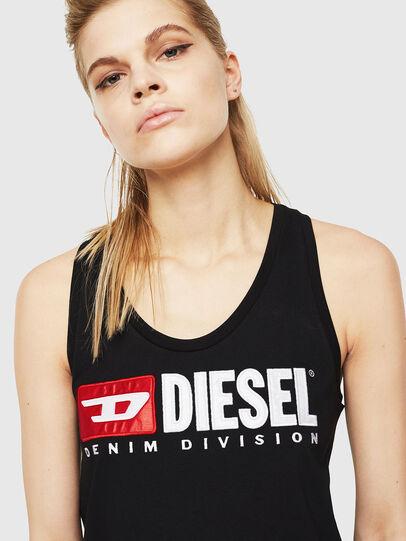 Diesel - T-SILK, Schwarz - Oberteile - Image 3