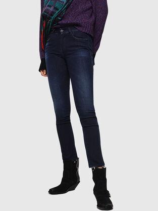 Sandy 083AG, Dunkelblau - Jeans