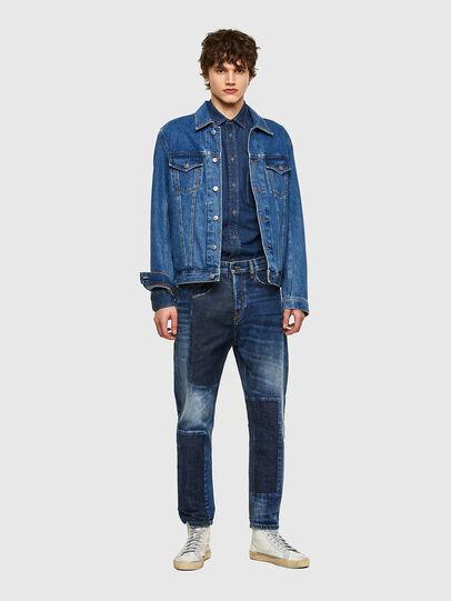 Diesel - D-Vider 009NJ, Mittelblau - Jeans - Image 6