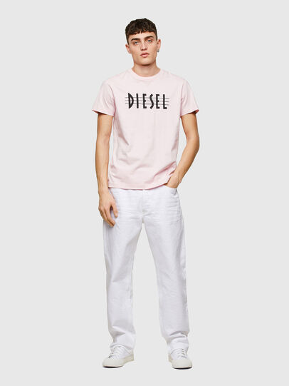 Diesel - T-DIEGOS-E34, Gesichtspuder - T-Shirts - Image 4