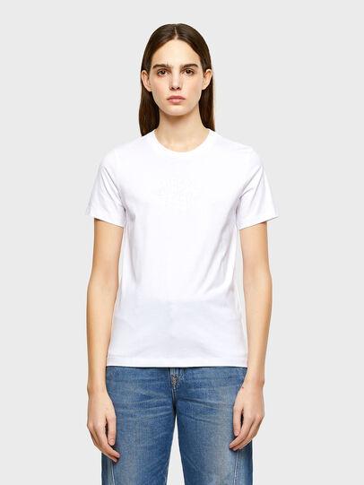 Diesel - T-SILY-K9, Weiß - T-Shirts - Image 1