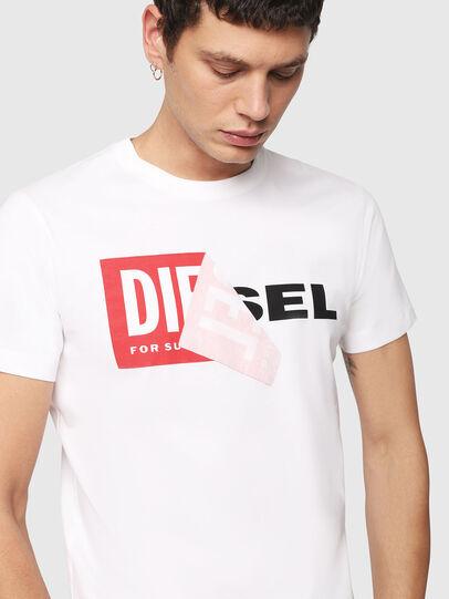 Diesel - T-DIEGO-QA, Weiß - T-Shirts - Image 3