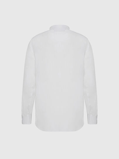 Diesel - S-BILL, Weiß - Hemden - Image 2