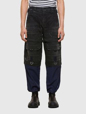 D-MULTY-SP, Schwarz/Blau - Jeans