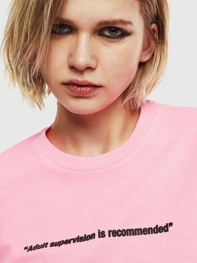 Diesel - T-JUST-NEON, Rosa - T-Shirts - Image 6
