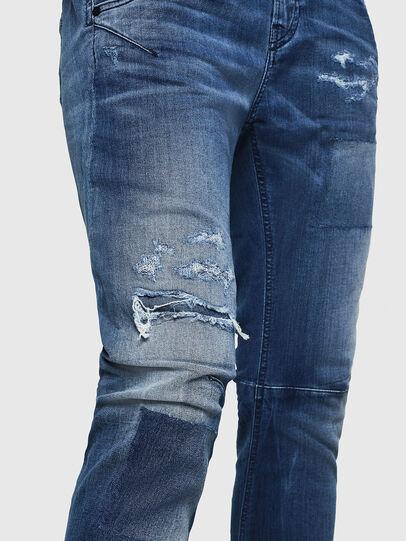 Diesel - Fayza JoggJeans 069HB, Mittelblau - Jeans - Image 5