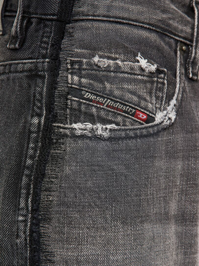 Diesel - D-Reggy 009IL, Schwarz/Dunkelgrau - Jeans - Image 4