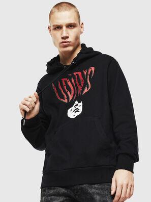 S-GIRK-HOOD-J2, Schwarz - Sweatshirts