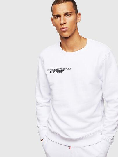 Diesel - UMLT-WILLY, Weiß - Sweatshirts - Image 1