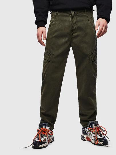 Diesel - D-Krett JoggJeans 069LX, Armeegrün - Jeans - Image 1