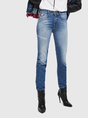 D-Rifty 0097B, Mittelblau - Jeans