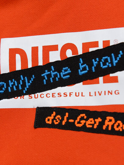 Diesel - SONELGET OVER, Orange - Sweatshirts - Image 3