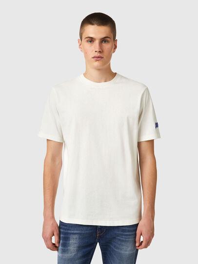 Diesel - T-JUST-B67, Weiß - T-Shirts - Image 1