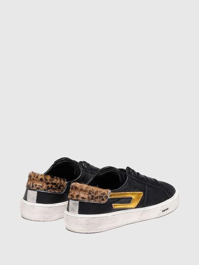 Diesel - S-MYDORI LL W, Blau/Gold - Sneakers - Image 3