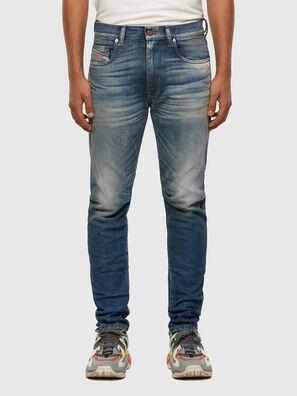 D-Strukt 009HH, Mittelblau - Jeans