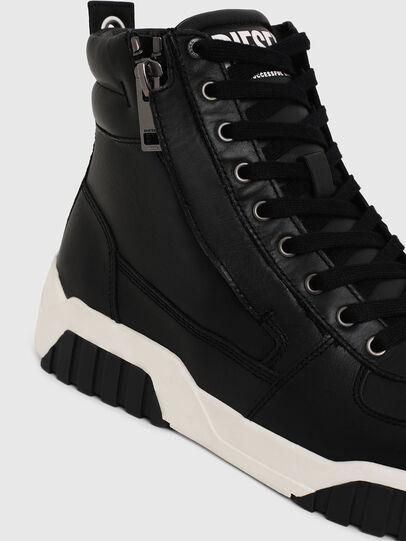 Diesel - S-RUA MID, Schwarz - Sneakers - Image 4