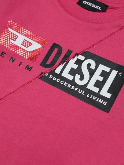 Diesel - TDIEGOCUTYB-FL ML, Rosa - T-Shirts und Tops - Image 3