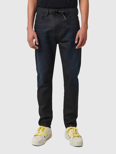 Diesel - D-VIDER JoggJeans® 069XN, Schwarz/Dunkelgrau - Jeans - Image 1