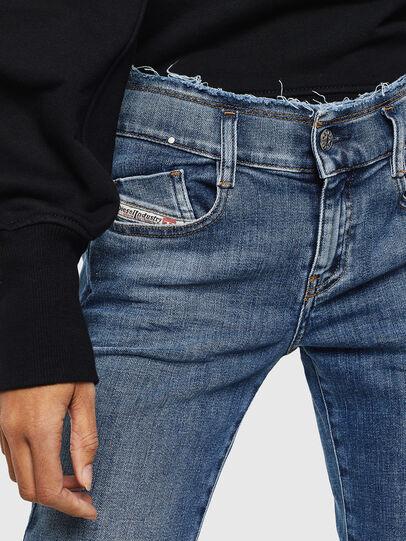 Diesel - D-Ebbey 009AA, Mittelblau - Jeans - Image 5