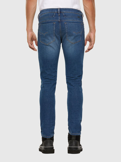 Diesel - D-Bazer 009DB, Mittelblau - Jeans - Image 2