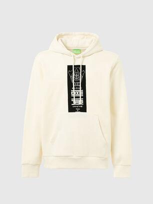 S-GIRK-HOOD-N3, Weiß - Sweatshirts