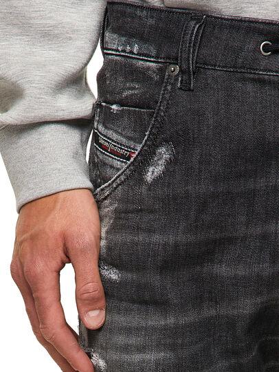 Diesel - Krooley JoggJeans® 09B53, Schwarz/Dunkelgrau - Jeans - Image 3