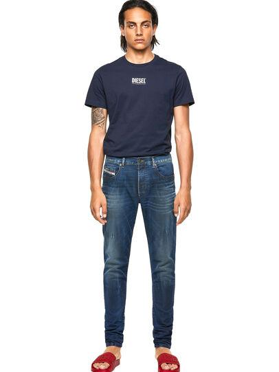 Diesel - D-Strukt JoggJeans® 069WR, Dunkelblau - Jeans - Image 5