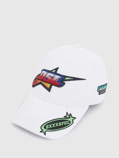 Diesel - ASTARS-CAP-B1, Weiß - Hüte - Image 3