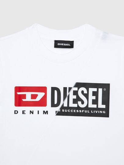 Diesel - TDIEGOCUTYB-R, Weiß - T-Shirts und Tops - Image 3