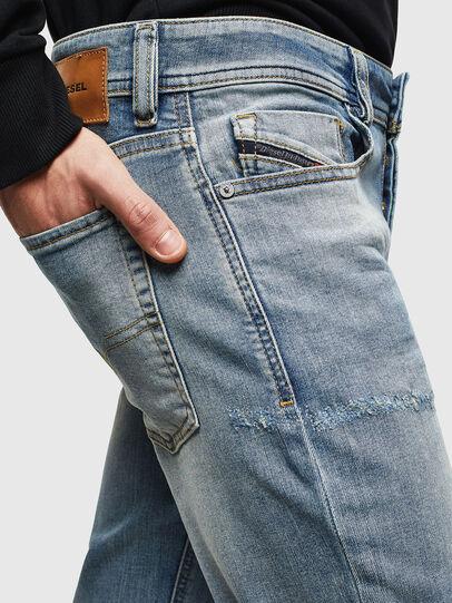 Diesel - Sleenker CN057, Hellblau - Jeans - Image 5