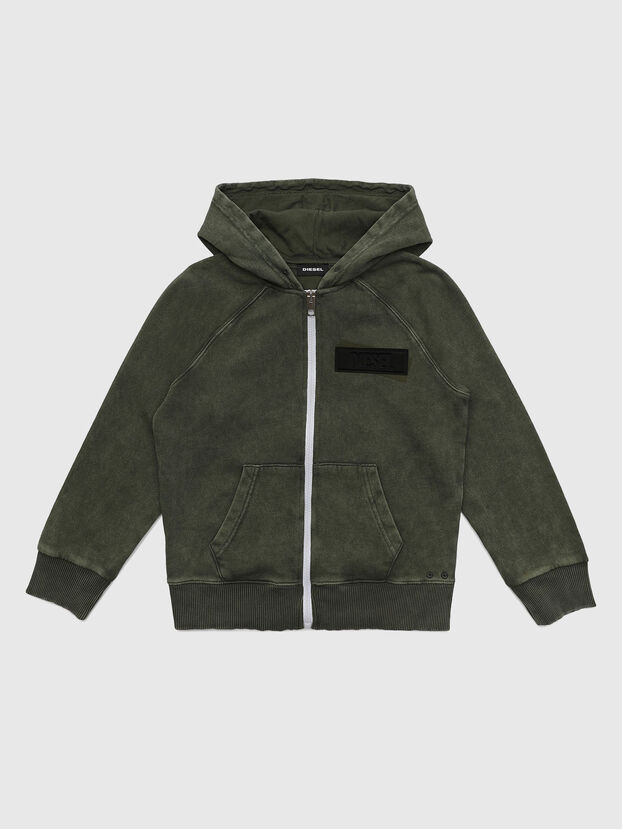 SGIMHOODZIP, Armeegrün - Sweatshirts