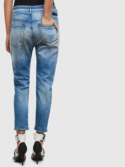 Diesel - Fayza JoggJeans 0099Q, Mittelblau - Jeans - Image 2