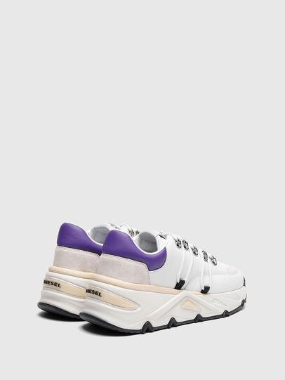 Diesel - S-HERBY TREK EVO, Weiss/Violett - Sneakers - Image 3