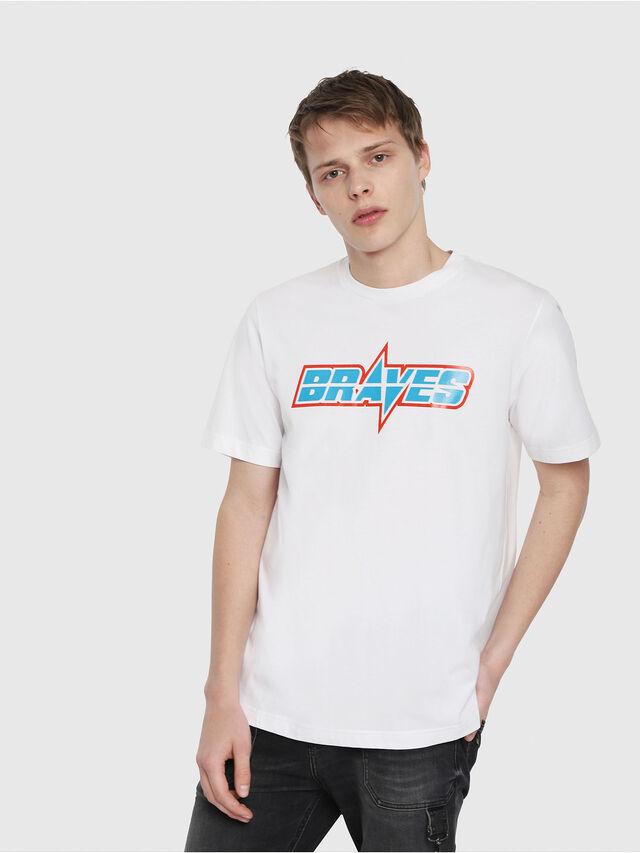 Diesel - T-JUST-YB, Weiß - T-Shirts - Image 1