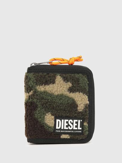 Diesel - PI-ZIP, Camouflagegrün - Portemonnaies Zip-Around - Image 1