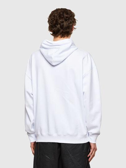 Diesel - S-UMMER-E1, Weiß - Sweatshirts - Image 2
