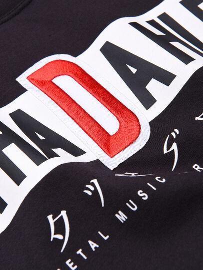Diesel - TJUSTYZ OVER, Schwarz - T-Shirts und Tops - Image 3