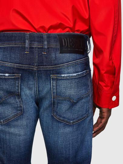 Diesel - Sleenker 09A27, Dunkelblau - Jeans - Image 4