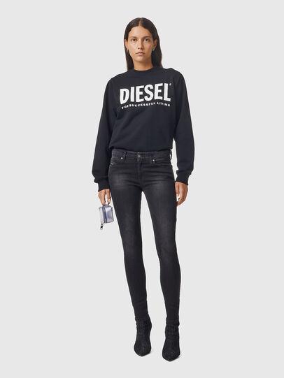 Diesel - Slandy 069EF, Schwarz/Dunkelgrau - Jeans - Image 5
