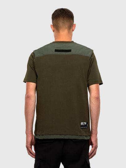Diesel - T-ARMI, Olivgrün - T-Shirts - Image 2